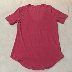 Lululemon pink V-neck